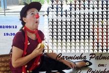 """Carminha Palma / """"todo artista tem de ir aonde o povo está""""..."""