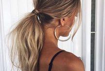 h a i r / hair style