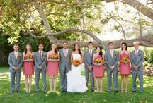 Wedding Party / These are the bride and groom's besties.  Whether they are family, or friends that feel like family, they deserve to look awesome on the big day!