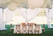 The Reception / Congratulations! You're married!  Now it's time to party, and we know you want that reception space to look AMAZING!  Check out all these amazing ideas to inspire your dream receprtion!