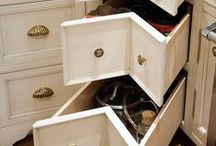 Cabinet Accessories and Storage / by Amoroso Cabinets