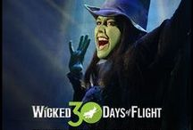 30 Days of Flight / In celebration of WICKED's 10th anniversary on Broadway, here are 30 days of surprises for the fans that help us fly!