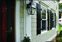 HardieShingle Siding / Exterior looks featuring HardieShingle http://www.jameshardie.com/homeowner/products_siding_hardieshingleSiding.py