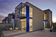 James Hardie's Contemporary Style Homes / Contemporary style homes featuring James Hardie products http://www.jameshardie.com/homeowner/colorplus-palette.shtm