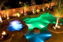 Swimming Pool Lighting / Lighting a swimming pool is as much an art as it is a science, and S.R.Smith offers a broad range of pool lighting.