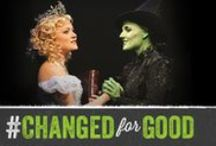 "Changed For Good / Every week at the Gershwin Theatre, thousands of WICKED audience members are transformed. Whatever their unique experience, they share one thing in common: seeing WICKED has changed them ""For Good."""