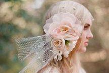 Headpiece / head piece for bride