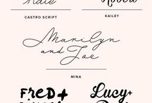 Typography & Fonts / holistic health business, health coaching business, yoga business, essential oil business, typography, fonts, handwriting fonts, website design