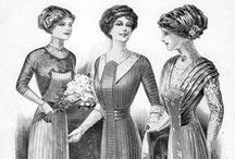 1900's Fashion (1900-1919) / We're celebrating 100 years of fashion for our charity luncheon it's going to be fabulous! Lunch at the GPH