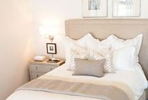 Bedroom Inspiration / This 'board' is to give me some inspiration about my new bedroom. I love neutral/pale whites, creams, browns and blues.