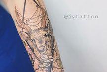My work / Tattoos by João Vitória Martins @jvtattoo