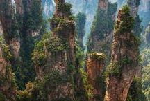 Avatar land in China / Yunan