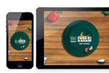 Nestle Kitchen (original designs) / A digital campaign of Nestle Kitchen that focuses on cooking and health. This is the work that was done during the pitch was being prepared for Nestle Kitchen account at Pakkapapita - RED Communication Arts in 2014.