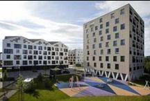 Новые Террасы Кошице Словакия / Жилой комплекс Новая Терраса Кошице Словакия. Новая Терраса является уникальным компактным районом с разнообразной городской инфраструктурой и богатой артикуляцией внешнего пространства.