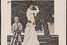 Women on Posters / Mulheres em Cartazes ao longo da história (desde 1870, com ano e autor definidos)