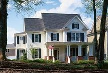 James Hardie's Farmhouse Style Homes / Farmhouse style homes featuring James Hardie products http://www.jameshardie.com/homeowner/colorplus-palette.shtml