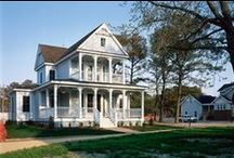 James Hardie's Folk Victorian Style Homes / Folk Victorian style homes featuring James Hardie products http://www.jameshardie.com/homeowner/colorplus-palette.shtml