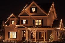 Light it Up for the Holidays! / Check out our tips on attaching lights to your home's siding and trim. http://www.jameshardie.com/Blog/Light-It-Up