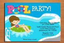 1st Birthday party / Pool party themed first birthday