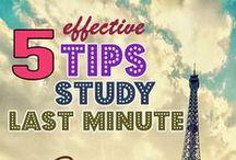 Study tips / Study methods, tips etc. Working student aids