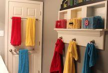 Superhero rooms