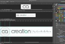 ca-creation.com / Publications de mon site ! / by Camille AUFEVRE