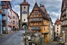 Switzerland, Germany, Austria