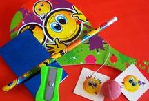 Smiley Party Bags / A really happy theme, perfect for boys, girls or a unisex party and for a wide age group!
