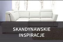 Skandynawskie inspiracje / Styl skandynawski cieszy się ogromną popularnością ze względu na prostotę i ciepło, które jest charakterystyczne dla wnętrz urządzonych właśnie w ten sposób. Dominująca biel, przełamana niekiedy drewnem, stanowi często doskonałą bazę dla innych, żywych kolorów i optycznie powiększa salon.