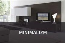 Minimalizm / Minimalizm we wnętrzach to kwintesencja prostoty formy i barw. Dominująca elegancja nie ustępuje tu skrupulatnie zaplanowanym elementom - minimalistyczne salony to wnętrza, gdzie nic nie dzieje się przypadkowo, a wszystko ma swoje miejsce. Podobają Wam się?