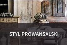 Styl prowansalski / Styl prowansalski to kwintesencja tradycji i naturalności. Proste formy, naturalna kolorystyka i wnętrza przepełnione naturalnymi materiałami, zabierającymi nas wprost w realia południowej Francji. Podoba Wam się?