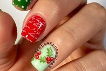 Christmas and winter nails