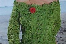 Kötés / Knitting / Pattern / Kötött pulóverek, minták