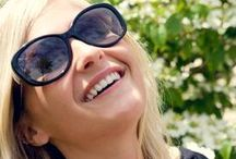 Lauryl in Style / Lauryl H., certified optician at NCEA, models some of our favorite styles.