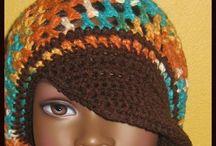 Chrochet headcaps/ gehaakte hoofddeksels