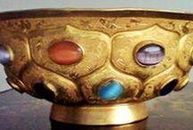 Tang Dynasty Gold Bowl / Ancient Chines wares