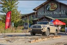 OutCold x Toyota Tacoma Launch Tour / To generate buzz around the 2016 Toyota Tacoma launch, OutCold partnered with the Kansas City Toyota Regional team to create a two-part Tacoma off-road experience for dealers and consumers in four Midwest markets.