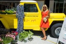 OutCold x Nordstrom Free People Tour / Traveling down the Pacific Coast Highway, OutCold boosted awareness for Free People at Nordstrom with a vintage rig that was made for Cali.