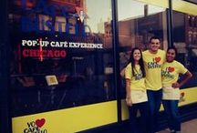 OutCold x Café Bustelo Pop Up Cafe / With the goal of increasing product trials and brand awareness in Chicago, OutCold executed a coffee shop takeover to transform an existing Chicago coffee house into a Café Bustelo pop up shop for 10 days.
