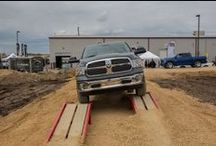 OutCold x Ram Trucks Off-road Course / Tasked with showcasing the off-road capabilities of the Ram 1500, OutCold developed and constructed a custom off-road course and invited consumers to sit back and experience the trucks' abilities first hand.
