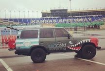 OutCold 1987 Toyota Land Cruiser / OutCold is an #ActionMarketing Agency creating experiences to connect brands with people--often with a vintage vehicle influence • Chicago, IL • 312.768.8253