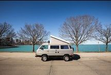 1987 WV Westfalia Synchro / OutCold is an #ActionMarketing Agency creating experiences to connect brands with people--often with a vintage vehicle influence • Chicago, IL • 312.768.8253
