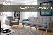 Sweet Sit - Jesień 2016 / Prosty pomysł na wypoczynek.  Sofy i narożniki do mniejszych i większych mieszkań.
