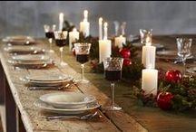 Tables de Noël tendance 2016 / La tendance Noël 2016 : décoration, ambiances, dressage et art de la table.  The 2016 Christmas trends : interior design, atmosphere, Christmas tableware, table settings.  Atmospheres Côté Table