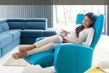 """""""Twoja Strefa Relaksu"""" - wybierz swój wymarzony fotel / Choose an armchair for your living room / Fotel to mebel, który kojarzy się z miękkością, przytulnością i odpoczynkiem solowym. To mebel, który często stanowi prawdziwą """"kropkę nad i"""" w aranżacji salonu. Nowoczesne i klasyczne, obrotowe i stacjonarne, rozkładane i z ruchomymi zagłówkami, wysokie i niskie - opcji jest wiele i każdy może spośród nich wybrać coś idealnie dopasowanego do własnych potrzeb. #inspiration #inspiracje #interiors #interiordesign #armchair #GalaCollezione #dosalonu #furniture #furnituredesign #furnitureideas"""