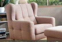 """Meble """"z uszami"""" / Furniture with """"ears"""" / Piękne meble inspirowane stylem angielskim - idealne do każdego salonu. #GalaCollezione #SweetSit #meble #design #dosalonu #sofa #fotel #fotele #sofy"""