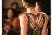 """1920s Fashion / The """"Roaring 20s"""" (or the french, """"Années Folles"""" -- Crazy Years) were an era swept away by the spirit of modernity. In 1920, prohibition might have made the import and sale of alcohol illegal, but the world was intoxicated by the joy of sustained economic prosperity. [over]Indulgence was the game. In response to the solemn years of WWI, the era marked a period wherein unprecedented industrial growth left its mark on everything within our culture. Here, we highlight the fashion of the 1920s. / by HotsyTotsy Vintage"""