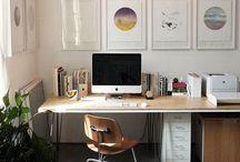 Arbeitszimmer, Working spaces / Schön wäre es, noch schöner zu arbeiten....