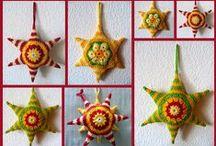 gwiazdki - stars, snowflakes