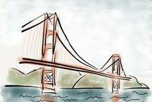 Watercolor Sketchs